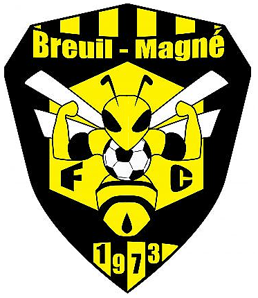 Logo Breuil Magné Football Club